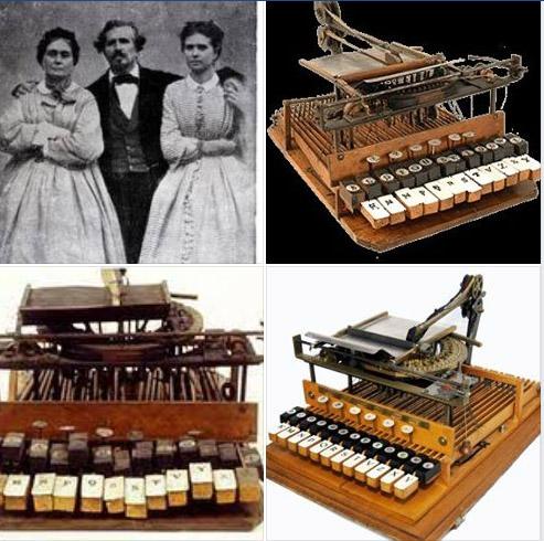origini macchina da scrivere