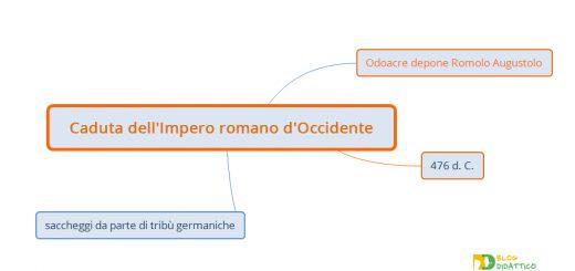 caduta impero romano occidente