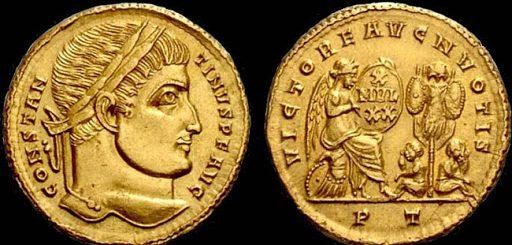 monete di Costantino imperatore