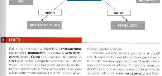 mappa cristianesimo